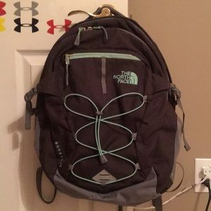 Teal and Grey North Face backpack!